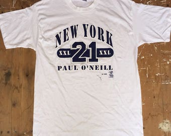 Vintage New York Yankees Paul O'Neill T-Shirt