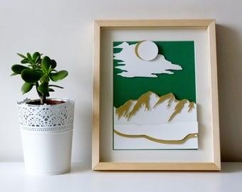 Green Mountain Landscape