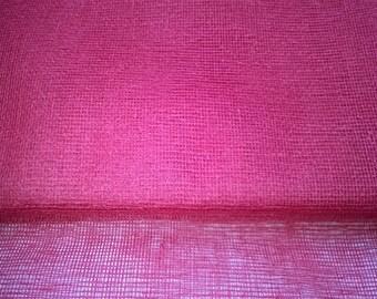 TARLATAN 100% cotton red width 130cm