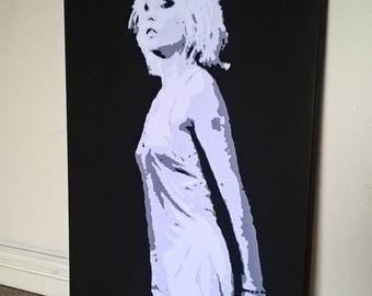 30x20 inch Debbie Harry canvas print