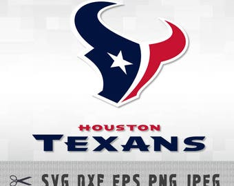 Houston Texans SVG PNG DXF Logo Layered Vector Cut File Silhouette Studio Cameo Cricut Design Template Stencil Vinyl Decal Transfer Iron on