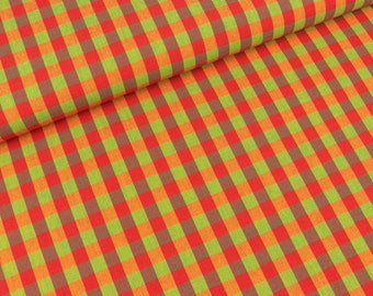 Westfalen fabric checkered colorful circus (18.90 EUR / meter)