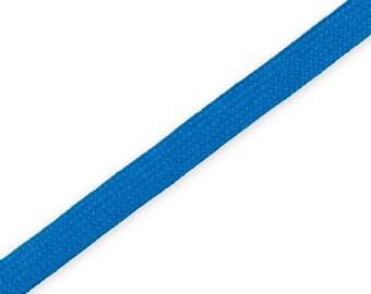 1 m braided Cord Blue 14 mm