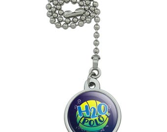 Water Polo Ball H2O Ceiling Fan and Light Pull Chain