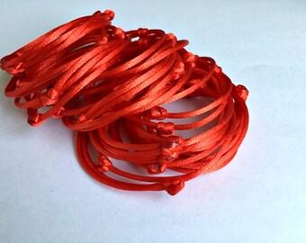 Set 10 Red Bracelets kabbalah hamsa hand red string Red Thread wholesale Friendship Bracelet Charm Buddhist bracelet Jewish bracelet