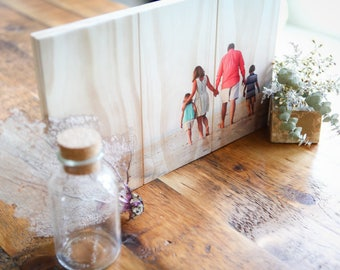 Photo On Wood, Custom Photo On Wood, photo pallet , Wooden Wall Art, Photo Printed On Wood, Wood Print 7in X 7in