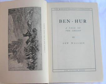 Ben-Hur Lew Wallace Vol. 10 World's Greatest Literature