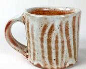 Orange Shino Mug