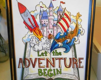 Let the Adventure Begin, Poster