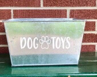 Dog Toy Box 2