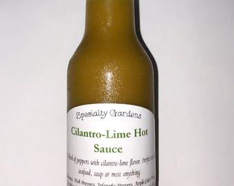 Cilantro-Lime Hot Sauce