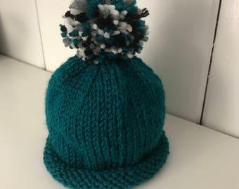 Newborn Philadelphia Eagles Hat