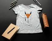 Fox T-shirt / / girl / / ...