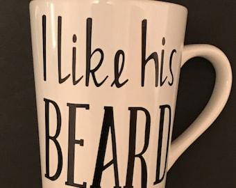 I like his beard, I like her butt mugs