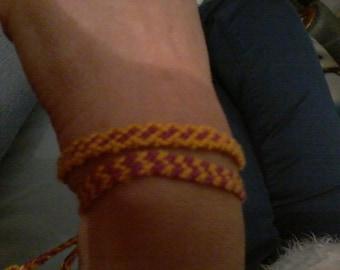 Set of 2 Brazilian bracelets handmade