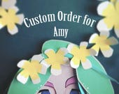 Custom Order for Amy // Cut Paper Art Gift