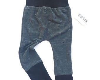 Maxaloones | Grow With Me Pants | Baby Leggings | Distressed Baby Leggings | Fall Baby Pants | Baby Boy Pants