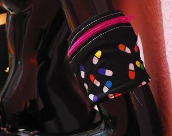 Bracelet purse close comfortable elastic cuff keys, save money. Useful