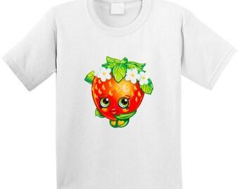 Shopkins Strawberry Kiss T Shirt