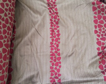 Clearance fabric for drapes Brown Burgundy