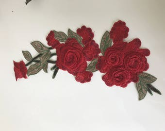 Embroidery 32 * 13 cm very good quality