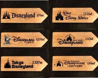 Disney AROUND the WORLD set of six!