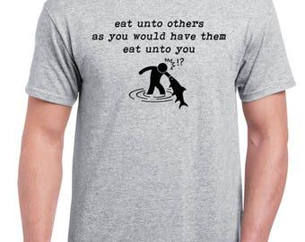 "UNISEX ""Eat Unto Others"" Shirt - Vegan, Vegetarian, Vegan Shirt, Animal Rights"