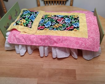 Bedding for an 18 Inch Doll Bed
