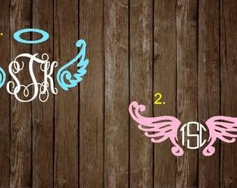 Angel Wing Monograms