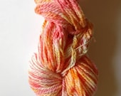 Yarn FREE Shipping sunset colors hand painted Yarn variegated orange red yellow variegated yarn diy projects merino wool fingering yarn