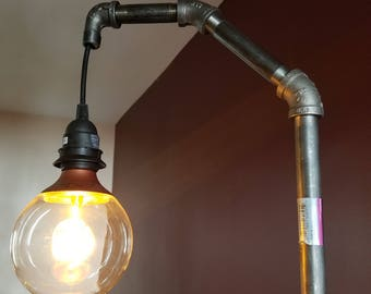 Industrial Metal Pipe Lamp