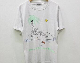 RARE!! Vintage Fido Dido Cartoon T-shirts Nice Design