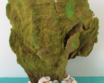 Soft coral, Sea sponge, Marina,  Boho, coastal statue