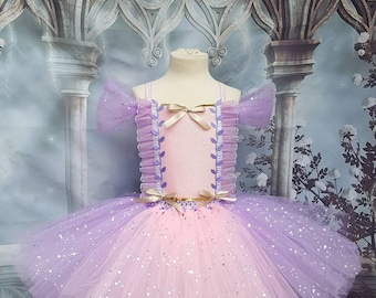 Rapunzel Tangled style tutu dress