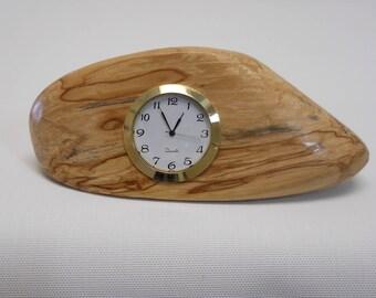 Handcrafted Desktop/Countertop Clock - Made from Northern California Driftwood