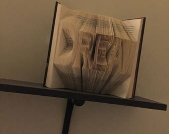 Folded Book Art-Dream