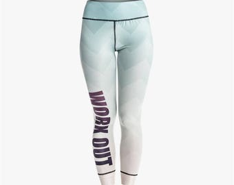 Wave Gradient Workout Leggings