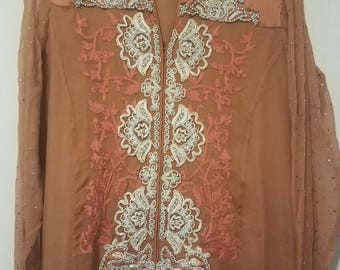 Beautiful and stylish branded party wear in medium