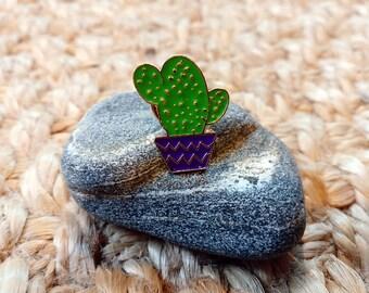 Clearance - 1Dollar Cactus Succulent Pins #8 | Enamel Pin | Brooch | Badge | Denim Jean Jacket | Backpack Hat Bag Accessories | Pins