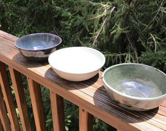 3 Colored Bowl Set