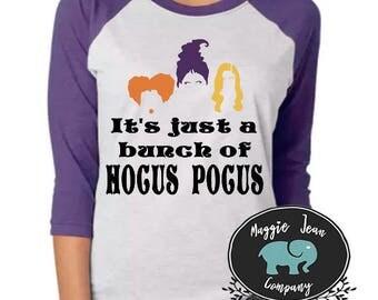 Hocus Pocus Shirt, Halloween Shirt, Hocus Pocus, Baseball Tee, Women's Halloween Shirt, Cute Halloween Shirt, Halloween Shirt