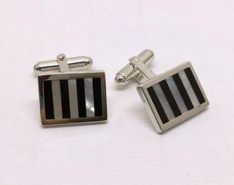 WALTER E  HAYWARD Weh sterling silver cufflinks #152