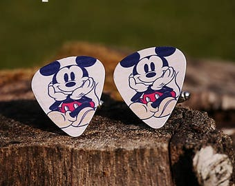 Mickey Mouse or Mickey and Minnie Mickey Mouse cufflinks