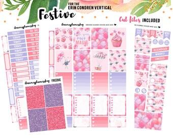 Planner Stickers Printable for Erin Condren, Printable Planner Stickers, Planner Stickers Printable Kit, Weekly Printable Planner Kit