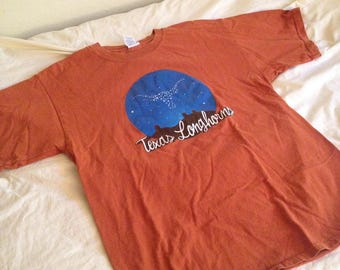 1990s Texas Longhorn Constellation Shirt