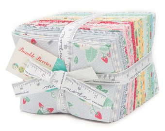 Fat Eighth Bundle - Bumble Berris by Lauren & Jessi Jung for Moda - 31 Fat Eighth - Precuts - Quilting - 100% Cotton
