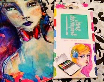 Jane Davenport Designs Bright 12 PC. Watercolor Paint Set