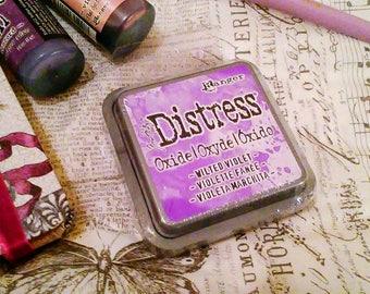 Tim Holtz Distress OXIDE INK by Ranger : Wilted Violet