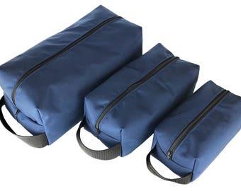 Handmade in California: Toiletry Bag/ Shaving Bag/ Dopp Bag/ Organizer/ Storage Pouch with 500d Cordura Nylon