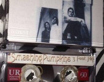 Smashing Pumpkins - 3 Feet High audio cassette tape bootleg